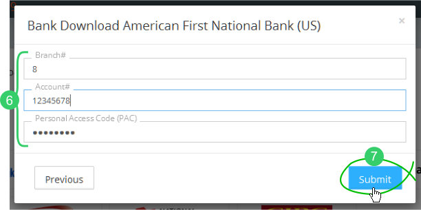 Banks - set up bank feeds for auto-download of transactions file